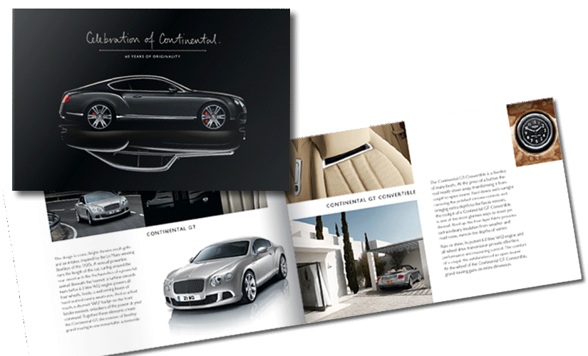 Bentley Automotive Brochure