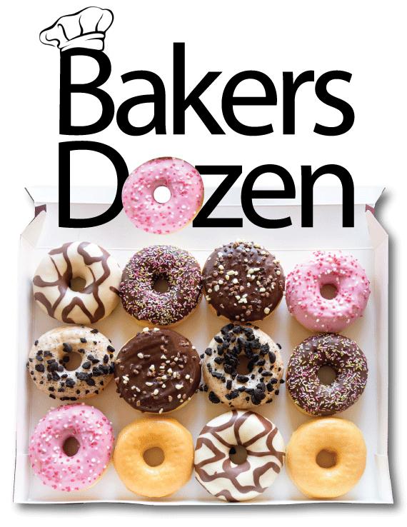 bakers dozen raffle